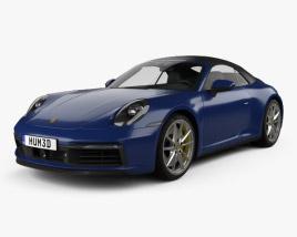 Porsche 911 Carrera 4S cabriolet 2019 3D model
