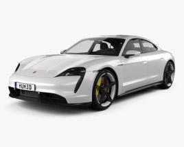 Porsche Taycan Turbo S 2020 3D model