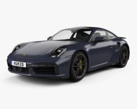 Porsche 911 Turbo S coupe 2019 3D model