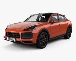 Porsche Cayenne GTS coupe 2020 3D model