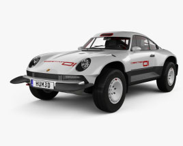 Porsche Singer All-terrain Competition Study 2021 3D model
