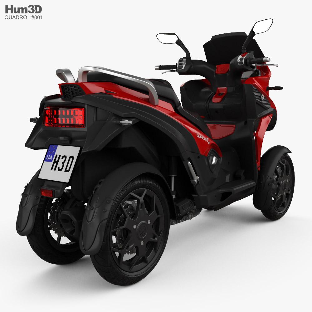 Quadro 4 2019 3d model