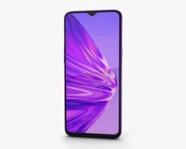 Realme 5 Crystal Purple 3D model