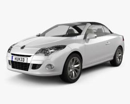Renault Megane CC 2011 3D model