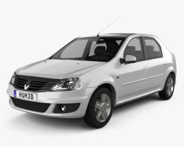 Renault Logan Sedan 2011 3D model