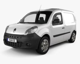Renault Kangoo Van 1 Side Door 2011 3D model