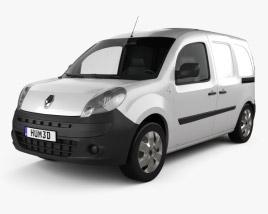 Renault Kangoo Van 2 Side Doors 2011 3D model