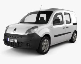 Renault Kangoo Van 2 Side Doors Glazed 2011 3D model