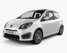 Renault Twingo RS 2008 3D model