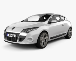 Renault Megane Coupe 2011 3D model
