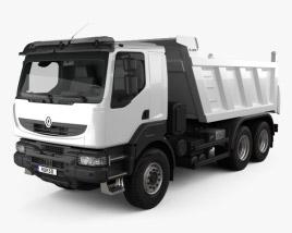 Renault Kerax Tiper 3-axle 2011 3D model