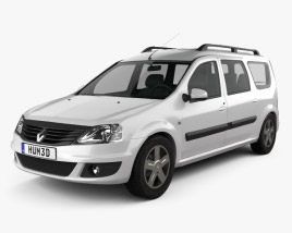 Renault Logan MCV 2011 3D model