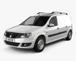 Renault Logan Van 2011 3D model