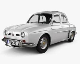 Renault Ondine (Dauphine) 1956-1967 3D model