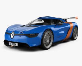 Renault Alpine A110-50 2012 3D model