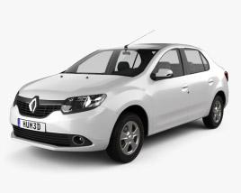Renault Symbol (Logan) 2013 3D model