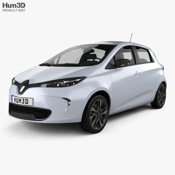 Renault Zoe: Renault Zoe 2013 3D Model
