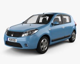 Renault Sandero 2012 3D model