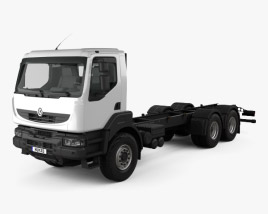 Renault Kerax Chassis Truck 1997 3D model
