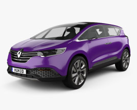 Renault Initiale Paris 2013 3D model
