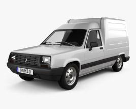Renault Express 1985 3D model