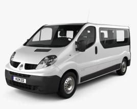 Renault Trafic Passenger Van LWB 2010 3D model