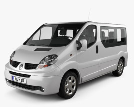 Renault Trafic Passenger SWB SR 2011 3D model
