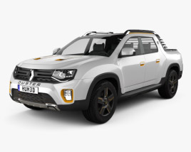 Renault Duster Oroch Concept 2015 3D model