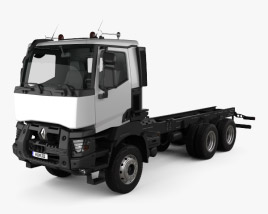 Renault K Chassis Truck 2013 3D model