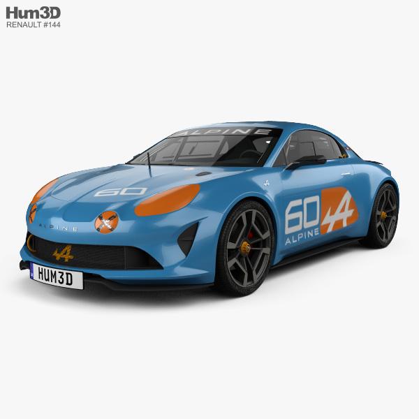 Renault Alpine: Renault Alpine Celebration 2015 3D Model
