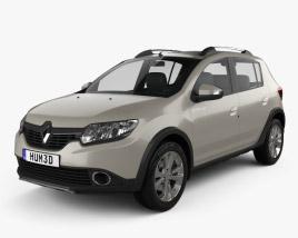 Renault Sandero Stepway 2014 3D model