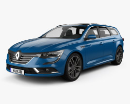 Renault Talisman estate 2016 3D model