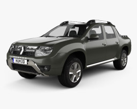 Renault Duster Oroch 2015 3D model