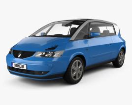 Renault Avantime 2001 3D model