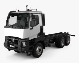 Renault K Day Cab Chassis Truck 2016 3D model