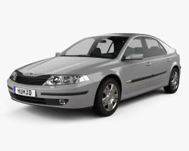 Renault Laguna liftback 2000 3D model