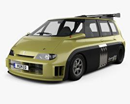 Renault Espace F1 1994 3D model
