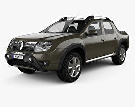 Renault Duster Oroch BR-spec 2015 3D model
