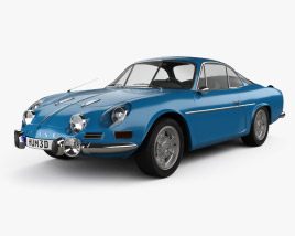 Renault Alpine A110 1600S 1972 3D model