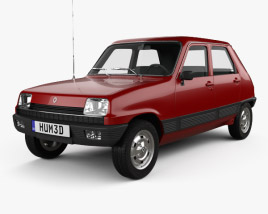 Renault 5 5-door 1972 3D model