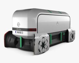 Renault EZ-PRO autonomous 2018 3D model