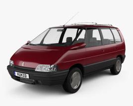 Renault Espace 1991 3D model