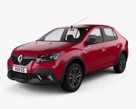 Renault Logan Stepway City CIS-spec 2018 3D model
