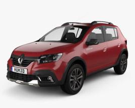 Renault Sandero Stepway City CIS-spec 2018 3D model