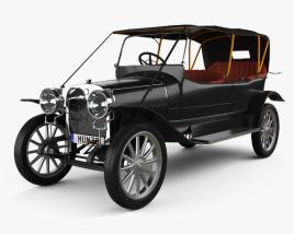 Russo-Balt K12/20 1911 3D model