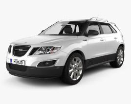 Saab 9-4X 2012 3D model