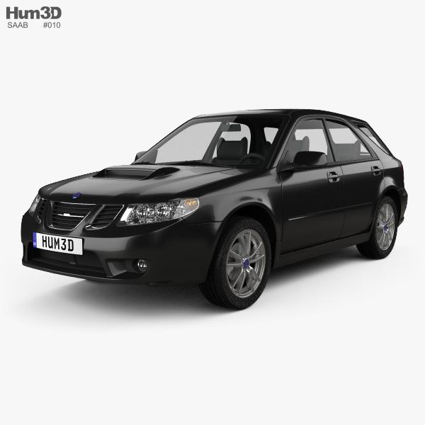 2004 Saab: Saab 9-2X 2004 3D Model