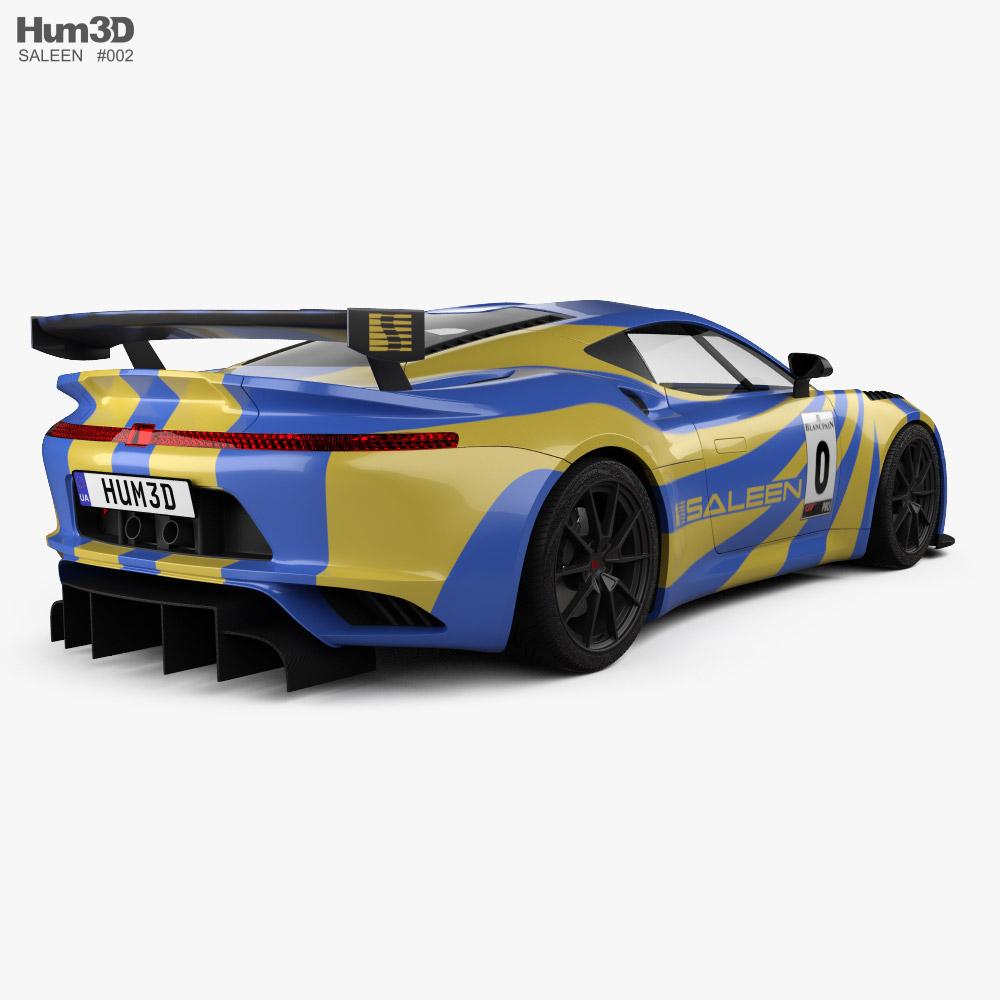 Saleen GT4 2020 3d model