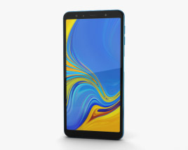 Samsung Galaxy A7 (2018) Blue 3D model