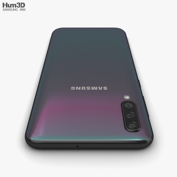 Samsung Galaxy A50 Black 3d Model Electronics On Hum3d